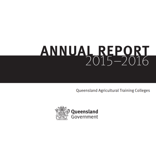 QLD Govt Annual Report Proofreading